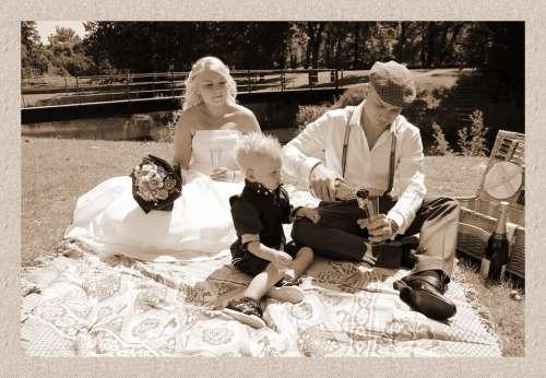 Family Wedding Romance Romantic Couple Kid Child