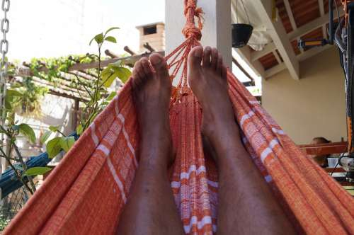Feet Networks Red Black