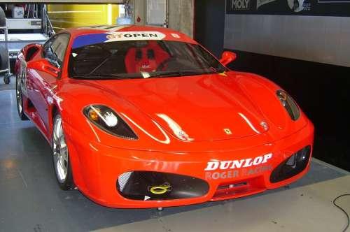 Ferrari Car Red F430 Sports Car Automobile
