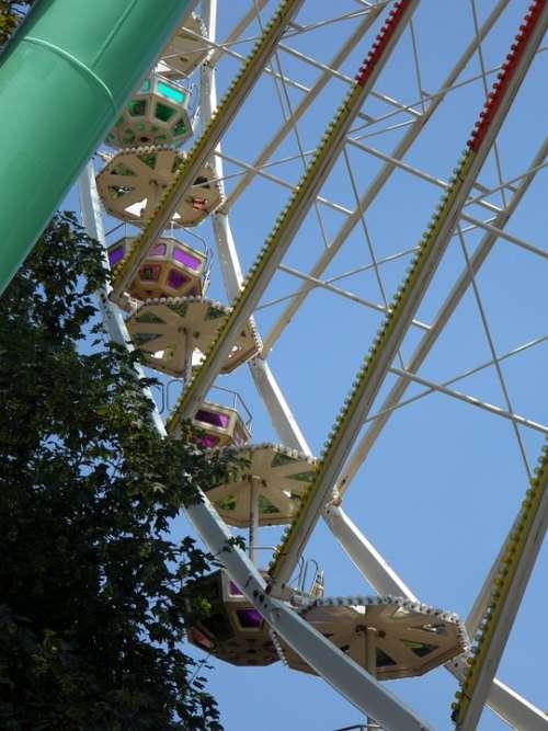 Ferris Wheel Gondolas Folk Festival Year Market