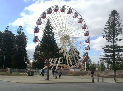 Ferris Wheel Fremantle Western Australia Big Wheel