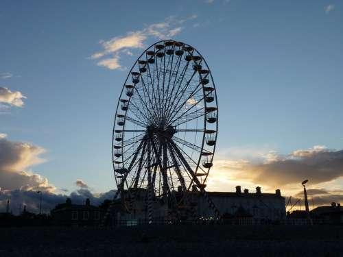 Ferris Wheel Year Market Dedication Folk Festival