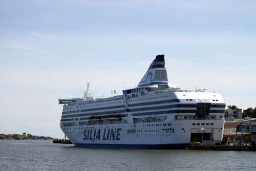 Ferry Ship Boat Cruiser Vacations On Lake Ocean