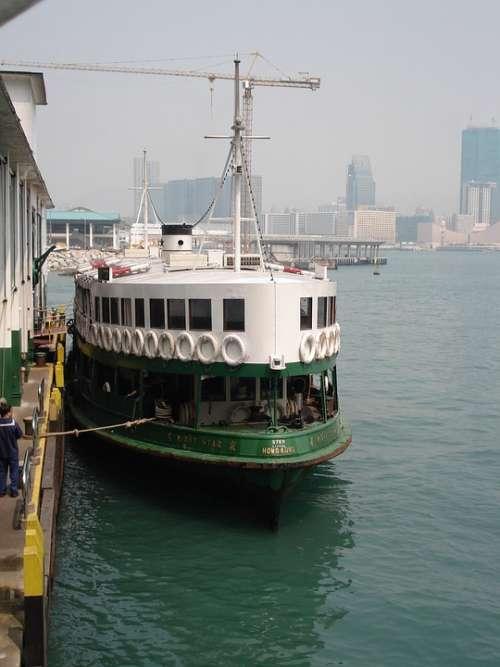 Ferryboat Hongkong China