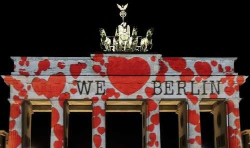Festival Of Lights Brandenburg Gate Berlin Building