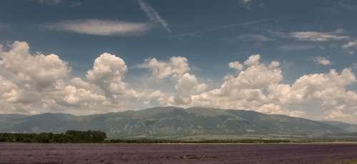 Field Mountains Near Kalofera