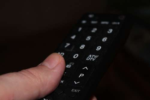 Finger Remote Control Turn On Tv