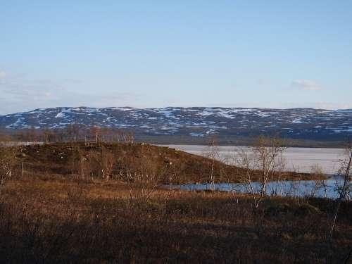 Finland Lapland Beautiful Views Water Lake Summer