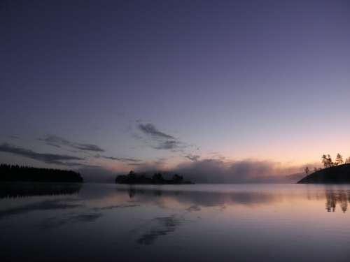Finnish Savonlinna Saimaa Nature Sky Water Lake