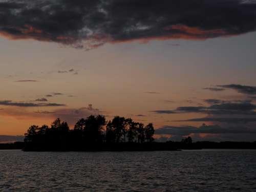 Finnish August Nature Photo Saimaa Savonlinna Lake