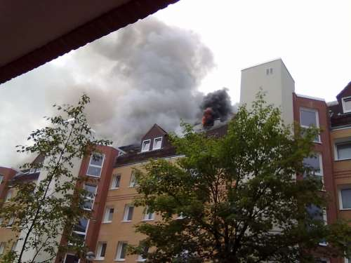 Fire Brand Apartment Fire Smoke