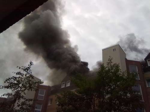 Fire Brand Apartment Fire Smoke