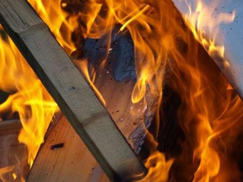 Fire Wood Fire Flame Burn Brand Heat Blaze Flame