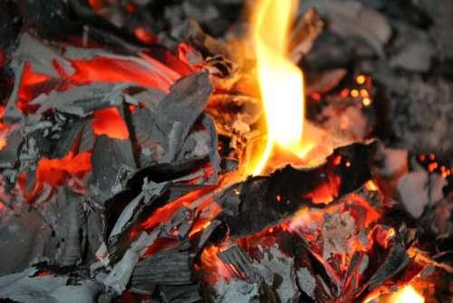 Fire Heat Burn Turn On Smoking Smoke Danger On