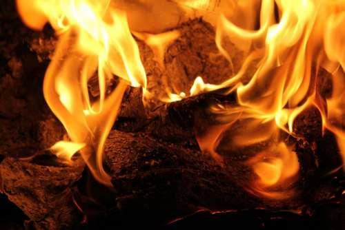 Fire Flames Burning Hot Heat Burn Turn On