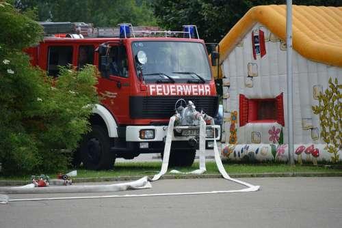 Fire Fire Truck Red Auto Equipment Fire Truck