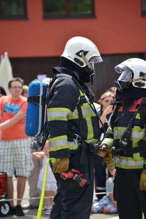 Fire Respiratory Protection Feuerloeschuebung
