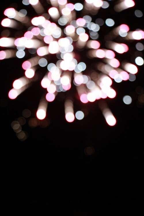 Fireworks The Dark Night Shiny