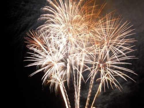 Fireworks 14 July Night