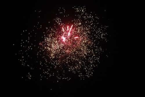Fireworks Night Shot Pyrotechnics