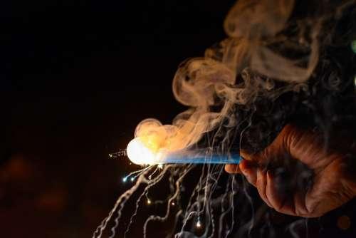 Sparkler Fireworks Colors Diwali Light Deepavali