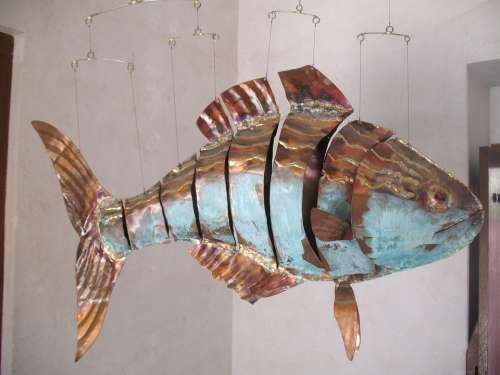 Fish Artwork Sheet Metal Metal Art Sheet Metal Art