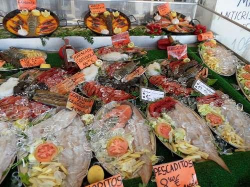 Fish Shellfish Raw Sea Fishmonger Food