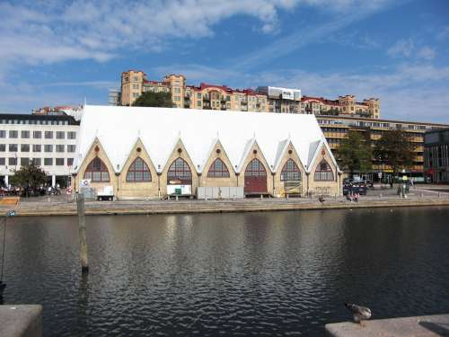 Fish Hall Sweden Gothenburg Downtown Architecture