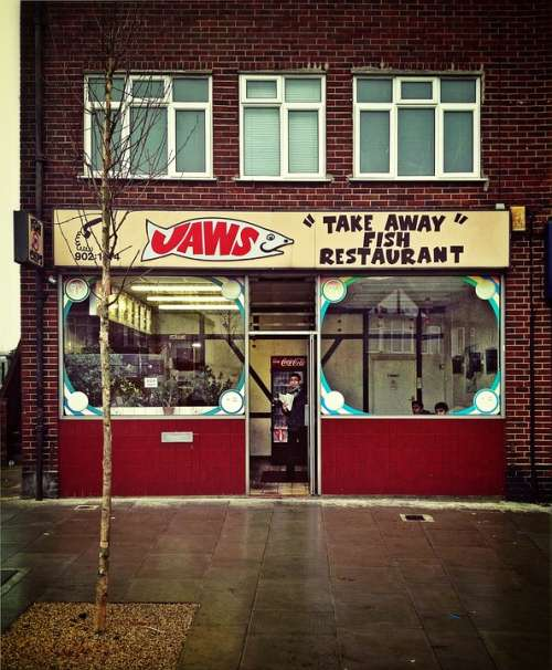 Fish Shop Food Fish Shop Business Sign Fast-Food