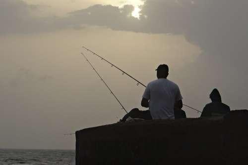 Fishing Fishing Rod Angler Equipment Angling Sport