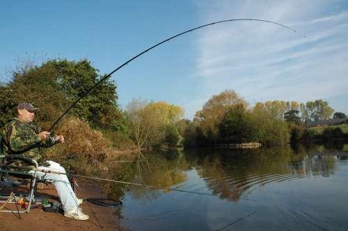 Fishing Angling Carp Fisherman Lake Water Rod