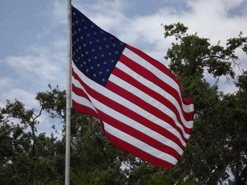 Flag United States Flag American Flag Usa America
