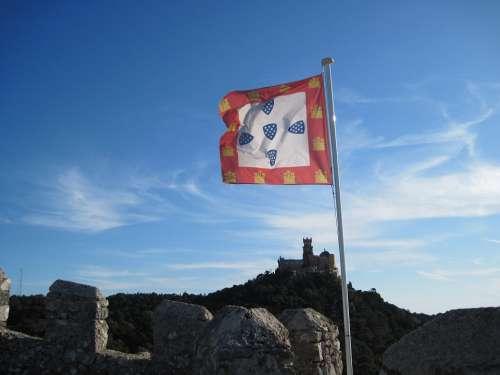 Flag Sky Castle