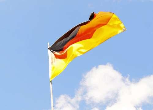 Flag Flagpole Sky Germany Wm2004 Brazil