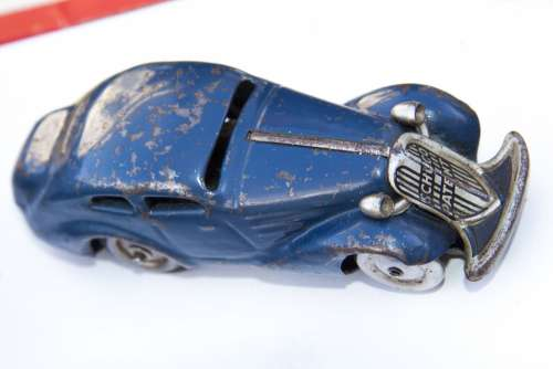 Flea Market Toy Car Schuco Technical Precision