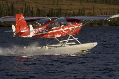 Floatplane Plane Float Water Aircrafts Aeroplanes