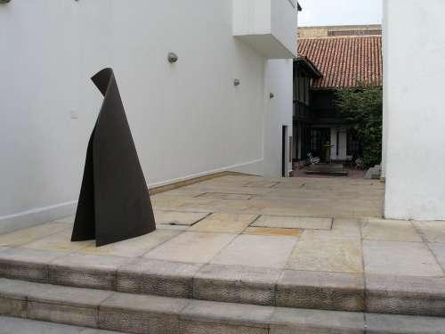 Floor Wall Sculpture Bogota Colombia