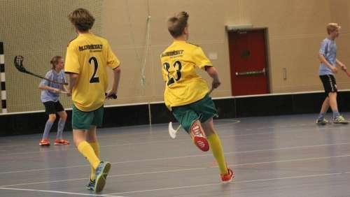 Floorball Movement Match Indoor Players