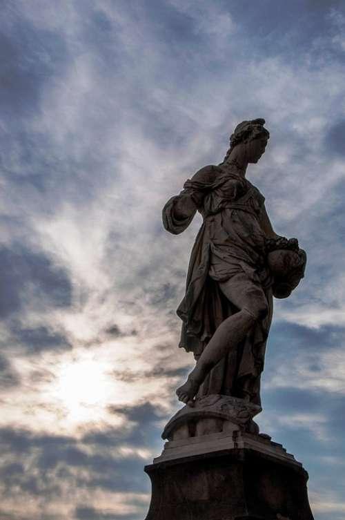 Florence Statue Italy Art History Tuscany