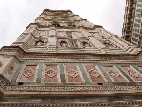 Florence Italy Dome Facade Architecture