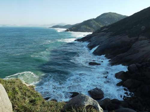 Florianópolis Mar Brazil Santa Catarina