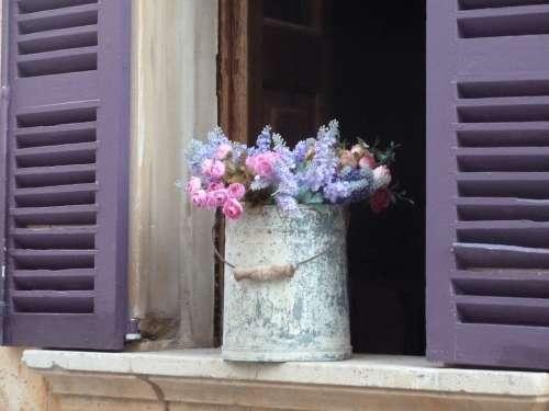 Flower Deco Window