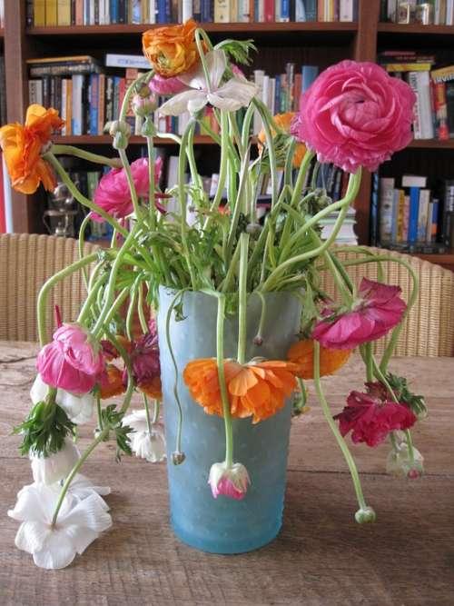 Flowers Vase Perish Slap Flower Art