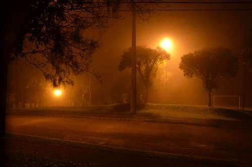 Fog Square Curitiba Paraná Brazil