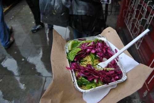 Food Salad Colorful