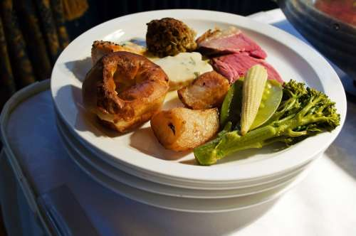 Food Meal Diet Meals Nourishment Meat Fish