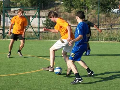 Football Duel Game Team Summer Night