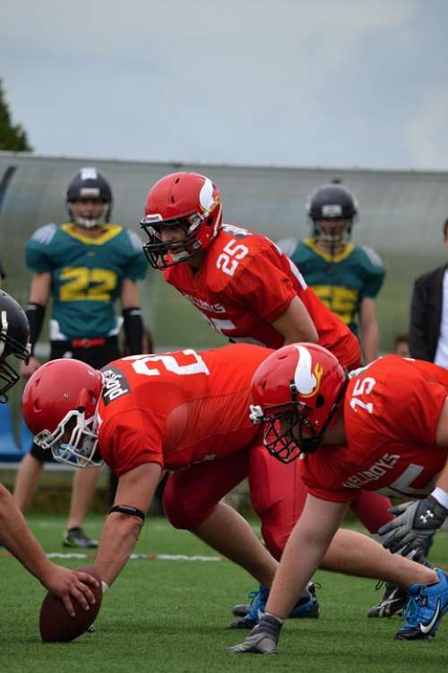 Football American Football Czech Budejovice Hellboys