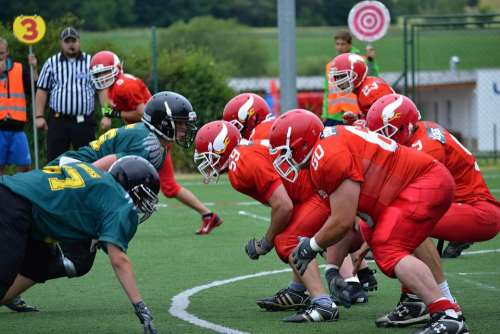 Football American Football Play-Off Position