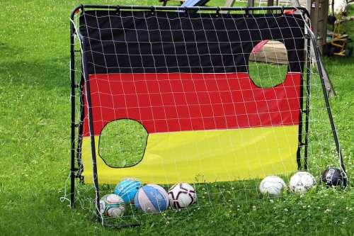 Football Goal Web Balls Ball Goal Net Sport Rush